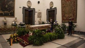 Bud Spencers Trauerfeier in Campidoglio, Rom