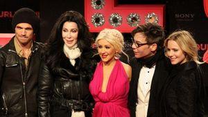 Christina Aguilera, Kristen Bell, Cher und Cam Gigandet