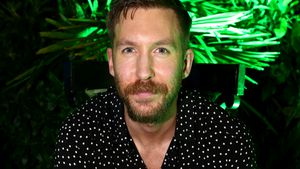 Calvin Harris bei seiner Album-Launch-Party in Los Angeles