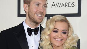 Calvin Harris und Rita Ora bei den 56. Grammy Awards 2014