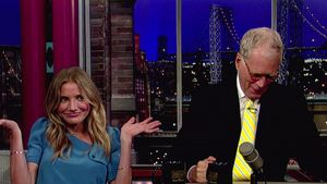 Cameron Diaz: Lustiger Abend bei David Letterman