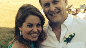 Candace Cameron Bure und Dave Coulier