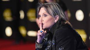 """Carrie Fisher auf der Premiere von """"Star Wars: The Force Awakens"""" in Hollywood"""