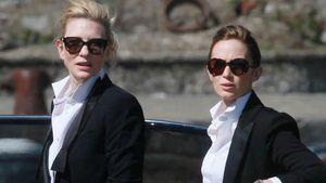 Cate Blanchett & Emily Blunt modeln für Luxuslabel