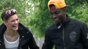 BTN-Chameen: Fußballer Kwaku hat sie verzaubert