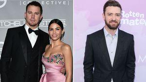 Channing Tatum & Jenna Dewan und Justin Timberlake