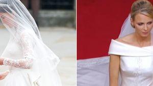 Kate vs. Charlène: Welche Braut war schöner?