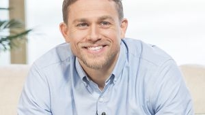 "Charlie Hunnam in der ""This Morning TV Show"" in London"