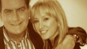 Sheens Verlobte Brett Rossi ist im Hochzeitsstress