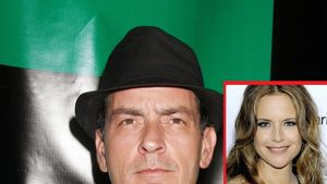 Charlie Sheen und Kelly Preston