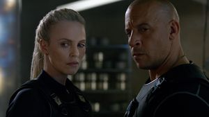 "Charlize Theron und Vin Diesel in ""Fast & Furious 8"""