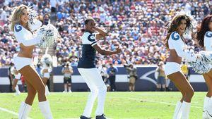 Super Bowl-Premiere: Am Sonntag gibt's männliche Cheerleader