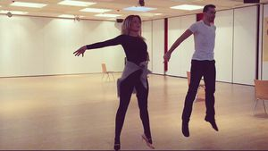"Cheyenne Pahde und Andrzej Cibis, ""Let's Dance""-Tanzpaar"