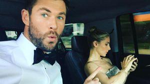 Heiße Salsa zum B-Day! Chris Hemsworth tanzt mit seiner Elsa