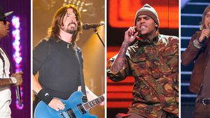 Chris Brown, Lil Wayne, Dave Grohl und David Guetta