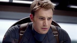 "Chris Evans in ""The Return of the First Avenger"""