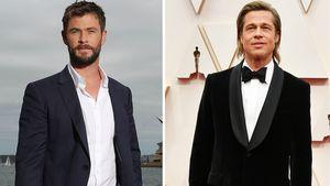 Ups! So war Chris Hemsworth und Brad Pitts erstes Treffen