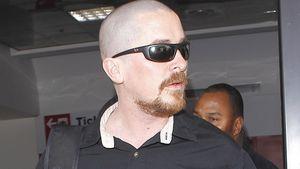 Kahler Kopf! Christian Bale mit Extrem-Rasur