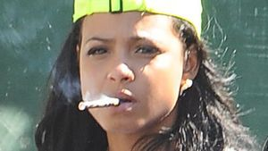 Hier lässt Christina Milian ordentlich Dampf ab