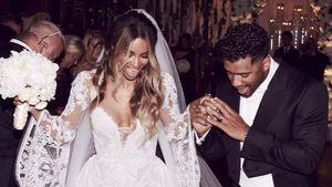 Ciara und Russell Wilson bei ihrer Hochzeit im Juli 2016