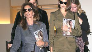 Vogues und Brillen: Cindy und Kaia sind ein modisches Duo!