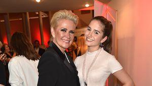Claudia Effenberg und Lucia Strunz bei der Secret Fashion Show