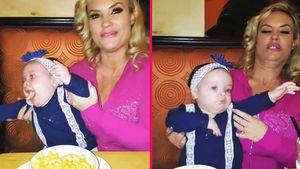 Im Käserausch: So matschig isst Cocos Baby Chanel Makkaroni