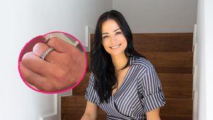 Über ein Jahr später: Amira Pocher zeigt erstmals Ehering