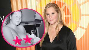 Offen: Amy Schumer teilt ein neues Bild kurz nach der Geburt