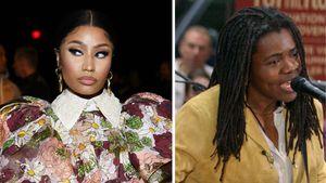 Rechtsstreit: Nicki Minaj zahlt Tracy Chapman 368.000 Euro!