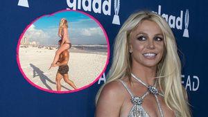 Sorgenfrei? Britney Spears genießt eine Auszeit am Strand