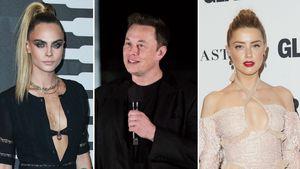 Hatte Cara Delevingne Dreier mit Amber Heard und Elon Musk?