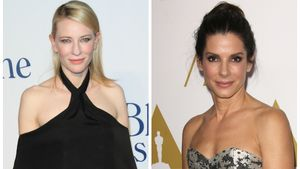Die Hollywood-Stars Cate Blanchett (l.) und Sandra Bullock