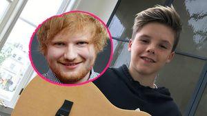 Cruz Beckham & Sänger Ed Sheeran