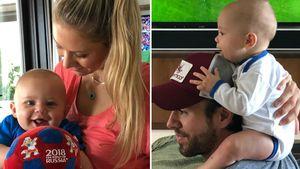 WM 2018: Auch Enrique & Annas süße Baby-Twins fiebern mit!