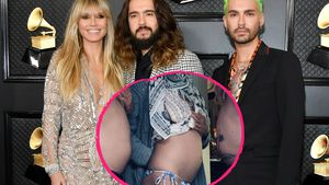 Gut gegessen: Heidi Klum & Kaulitz-Brüder zeigen ihre Bäuche