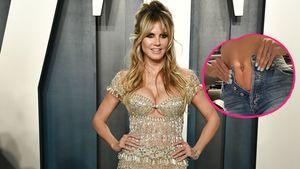 Lieblingsjeans passen nicht mehr: Heidi Klum nimmt es locker