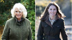 Fashion-Zwillinge: Kopiert Camilla Herzogin Kates Style?