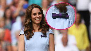 Kleine Schleife: Das steckt hinter Kates Wimbledon-Schmuck