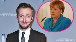 Schlecht informiert? Böhmermann belächelt Angela Merkel!