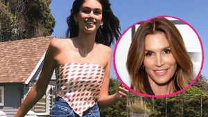 Keine Cindy Crawford: Kaia Gerber passt nicht in Mamas Jeans