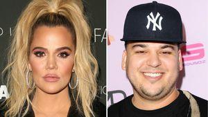 Khloe Kardashian hilft Bruder Rob beim Sorgerechtsstreit!