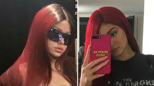 Rote Haare: Kim Gloss sieht aus wie frühere Kylie Jenner