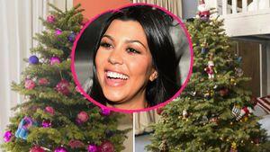 6 Bäume & ein Skelett: Kourtney Kardashian ist im Xmas-Wahn