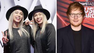Lisa & Lena und Ed Sheeran