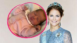 Es ist ein Mädchen: Prinzessin Madeleine zeigt ihre Tochter!