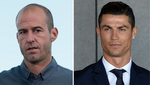 Mehmet Scholl und Cristiano Ronaldo