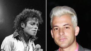 Michael Jackson und Mark Ronson