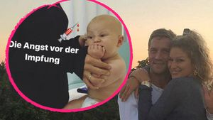 Fiese Spritze! Janni & Peers Sohn Emil-Ocean wird geimpft!