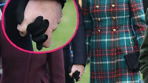 Royale Liebes-Sensation: Kate & William halten Händchen!